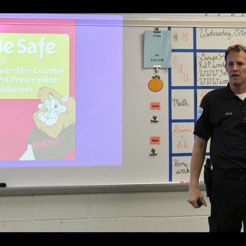 Fifth Grade D.A.R.E. lesson, 10.16.2019