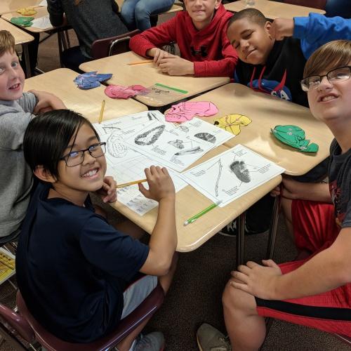 Sixth Grade Paleoanthropologist activity