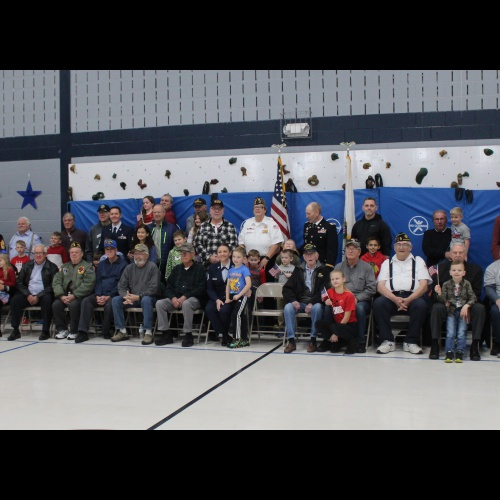 Veterans Day assembly, 11.11.2019