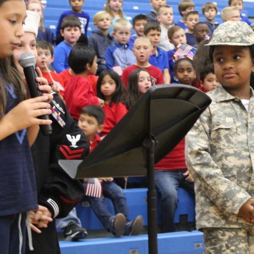 Veterans Day program, 11.08.2019