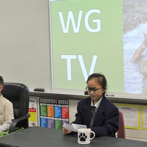 Third grade biography interviews, 12.11.2019