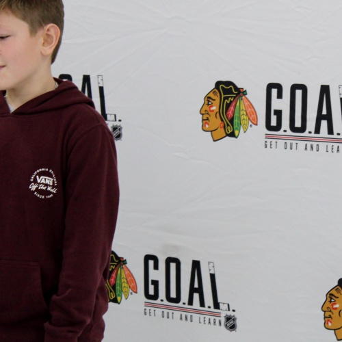 Chicago Blackhawks hockey clinic, 12.16.2019
