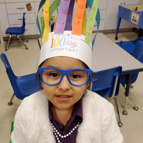 Students celebrate 100 days of school, 01.30.2020