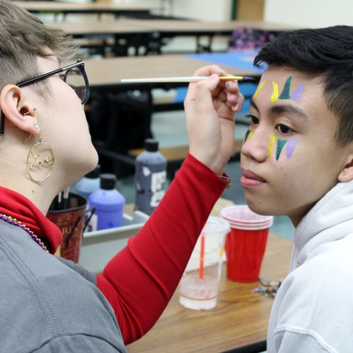 Foreign language clubs host Mardi Gras, 02.25.2020