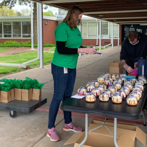 Crystal Lawns administration honors staff for appreciation week