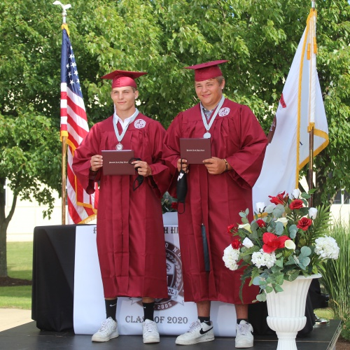 Plainfield North High School Drive-through Graduation 2020