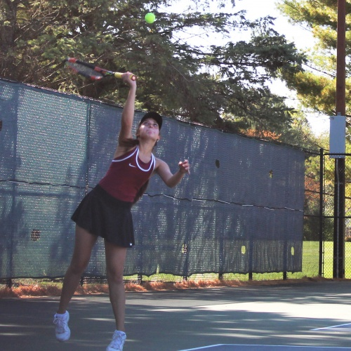 Girls regional tennis tournament, October 2020