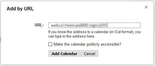 google calendar setup