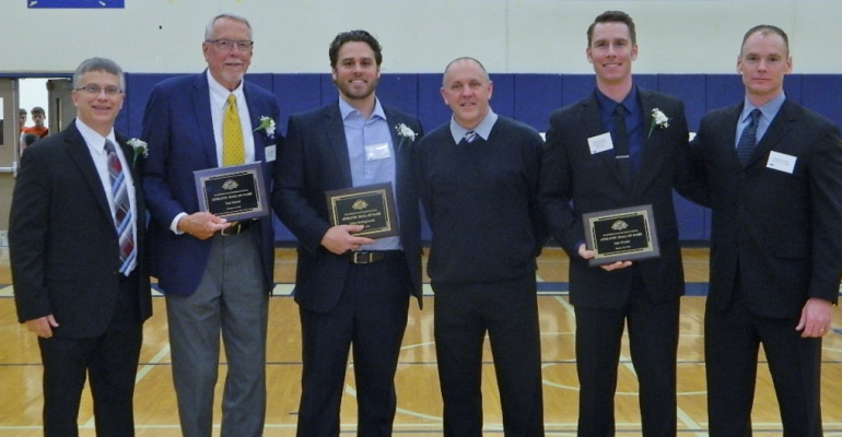 Inaugural Athletic Hall of Fame induction ceremony, Plainfield South High School