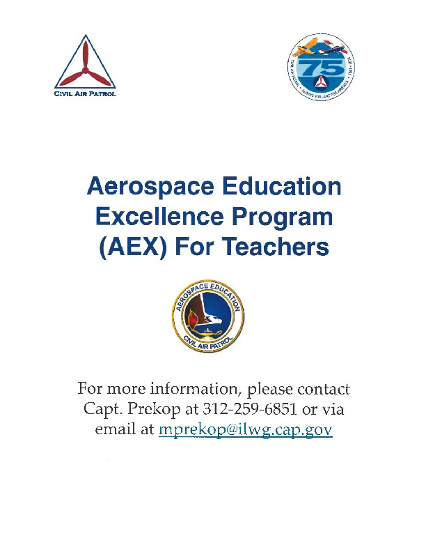 Aerospace Education Program (AEX) for Teachers