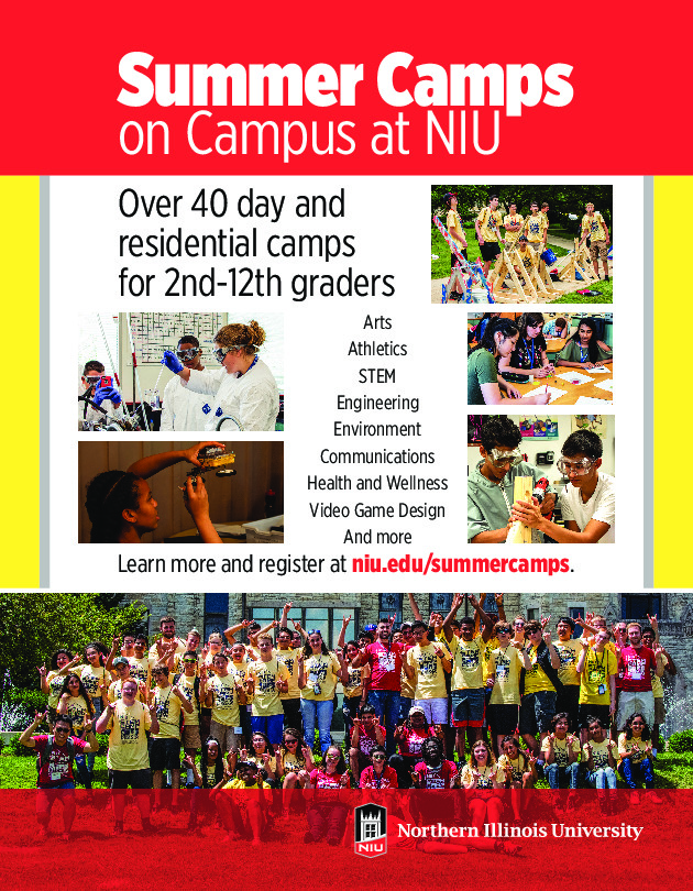 NIU Summer Camps 2018