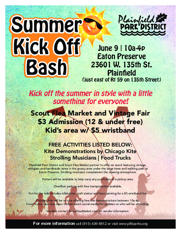 Summer Kick Off Bash: Plainfield Park District