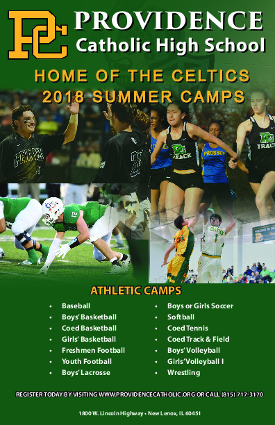 2018 Providence Catholic Summer Camps