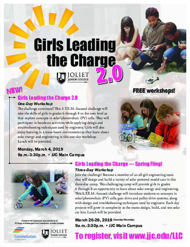 Free STEM class for Girls 6th-8th grade