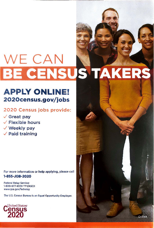Apply for the US Census