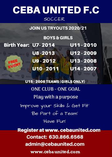 FREE Soccer Tryouts for 2020/2021