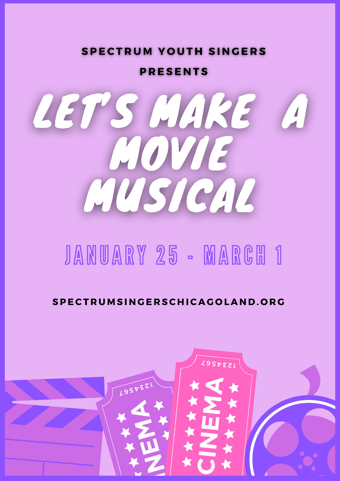 Let's Make a Movie Musical, Arts Enrichment Class, Plainfield