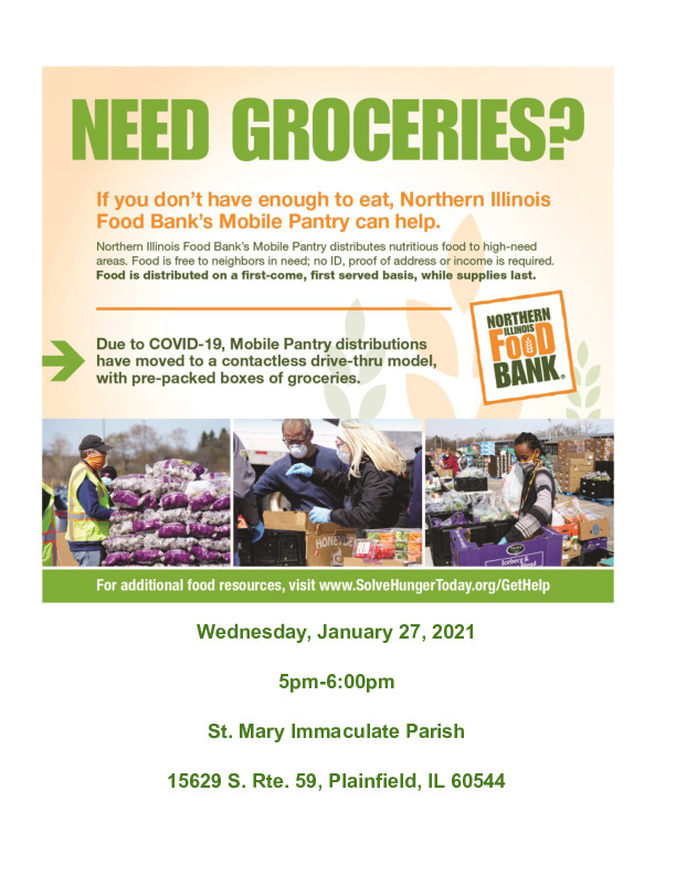 Mobile Food Pantry Plainfield