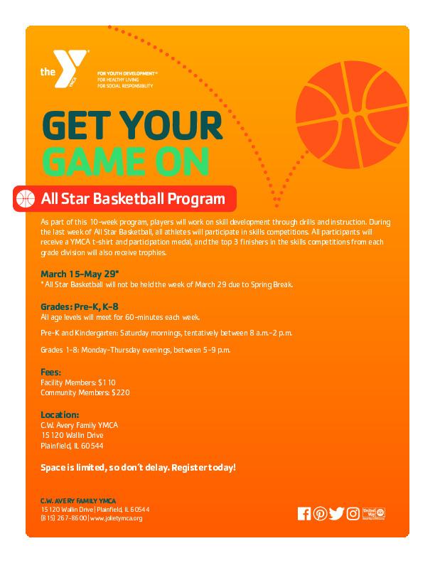 YMCA All Star Basketball Program