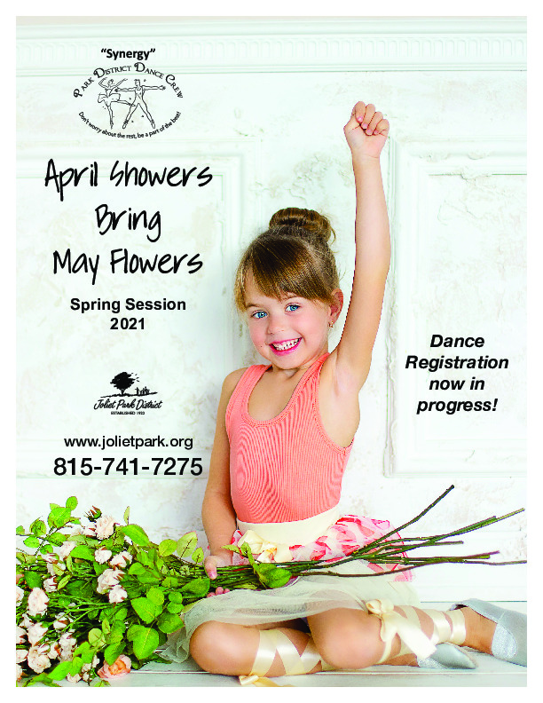 Synergy Dance April Showers Bring May Flowers Spring 2021 Session