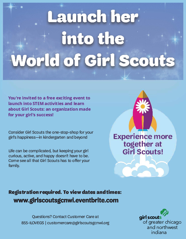 Launch Her Into The World Of Girl Scouts