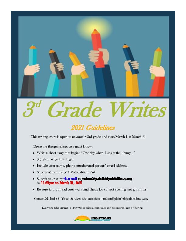 3rd Grade Writes
