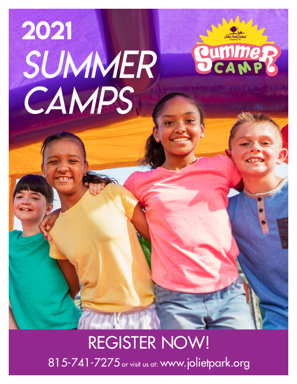 Joliet Park District 2021 Summer Camp Brochure
