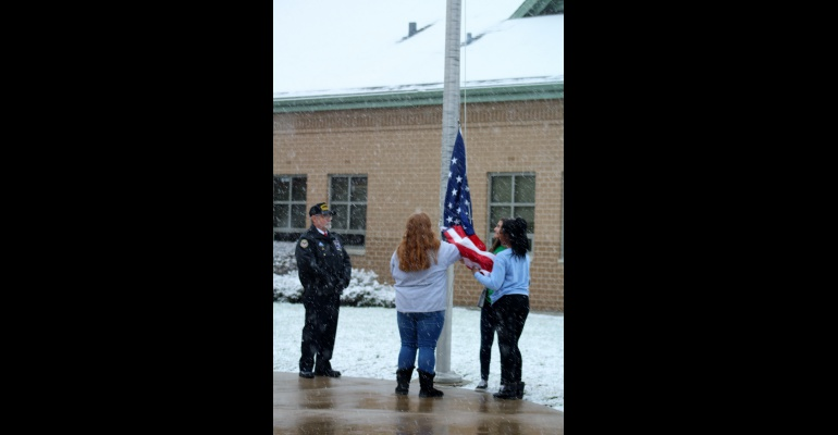 Timber Ridge Middle School honors veterans