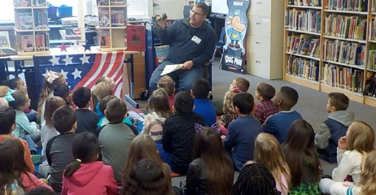 Crystal Lawns Elementary School hears from veterans