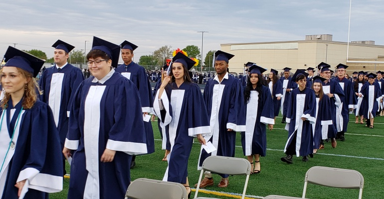 Plainfield South High School graduation, 05.18.2019