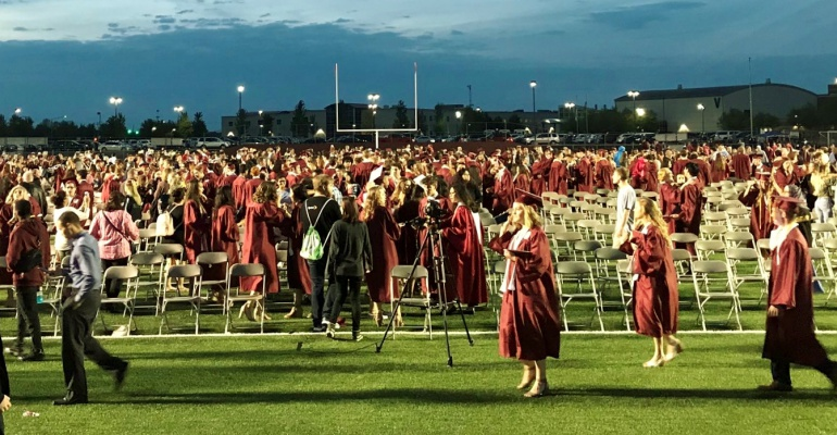 Plainfield North High School graduation, 05.18.2019