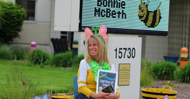 Bonnie McBeth Learning Center honors retirees